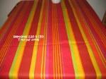 Dimensions 2.20 x 1.40     Toile pur coton